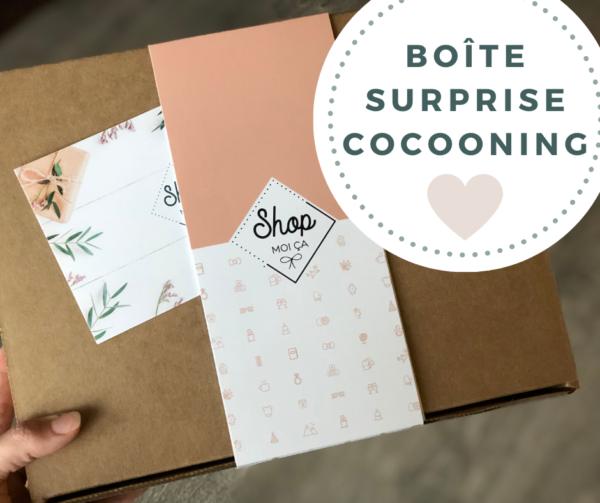 Boîte surprise cocooning