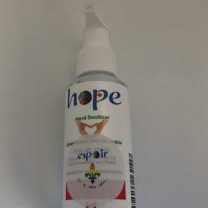 désinfectant pour les mains hope - 100 ml