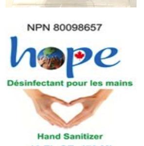 désinfectant pour les mains 473 ml